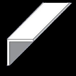 L-PROFIL PVC FEKETE 10X10X1,0 1M