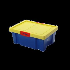 TÁROLÓDOBOZ FEDÉLLEL UNI BOX 400, 39X28X21CM