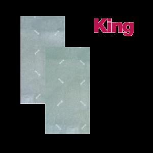 KING METÁL S VASALÓÁLLVÁNY HUZAT, 120X40CM