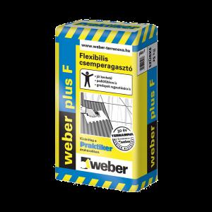 WEBER FLEX. CSEMPERAGASZTÓ 25KG WEBER PLUS F