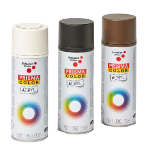 PRISMA COLOR AKRIL SPRAY MATT FEHÉR 400ML RAL 9010