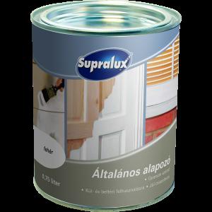 SUPRALUX ÁLTALÁNOS ALAPOZÓ 2,5L FEHÉR, MATT