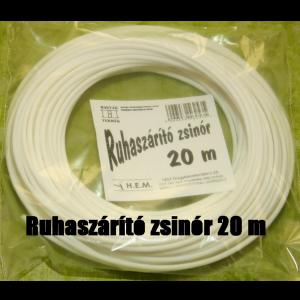 RUHASZÁRÍTÓ ZSINÓR PP 20M