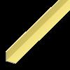 L-PROFIL, ALUMÍNIUM RÉZELOXÁLT 25X25X2,0 1M