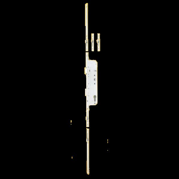 Kilincsműködtetésű rúdzár