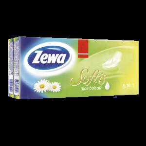 ZEWA SOFTIS PAPÍR ZSEBKENDŐ, 10X9, BALSAM