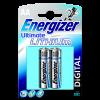 ENERGIZER ULTIMATE LÍTIUM AA BL2 CERUZA ÚJ SAP: 636895