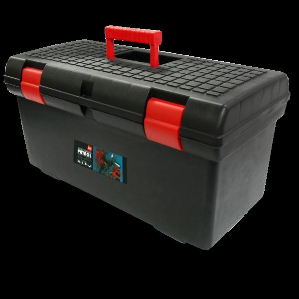 SZERSZÁMOSLÁDA 26˝ MŰANYAG TOOLBOX BASIC 580X285X295MM