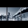 KOMPLEX VÁSZONKÉP QUEENSBORO HÍD ÉJJEL - NEW YORK 125X60CM