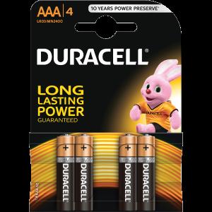 DURACELL BSC 4 DB AAA ELEM - DL 5000394077164