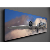 PANORÁMA VÁSZONKÉP B-17 BOMBÁZÓ A FELHŐK FELETT 150X50CM