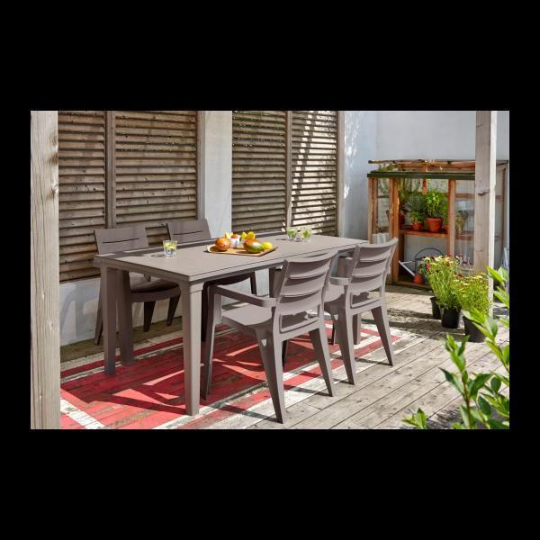 curver ibiza capucino szék