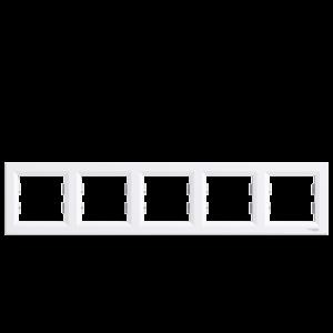 ASFORA 5-ÖS KERET VÍZSZINTES FEHÉR PEPH5800521
