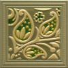 ROYAL DEKORCSEMPE TACO LULA GREEN 10X10 CM