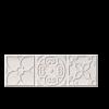 BULEVAR DEKORCSEMPE ALTAIR WHITE 10X30,5 CM