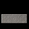 BULEVAR DEKORCSEMPE ALTAIR GRAY 10X30,5 CM