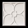 BULEVAR DEKOR TACO ALTAIR WHITE 10X10 CM