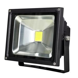 CHIP LED REFLEKTOR 20W, IP44 FEKETE