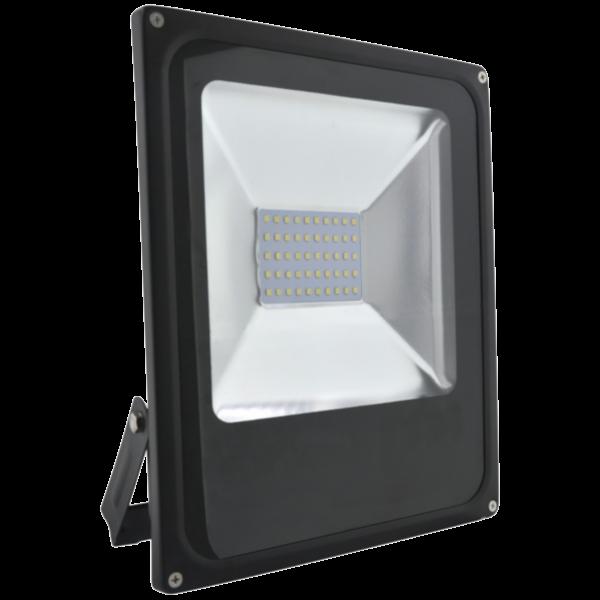 SLIM LED FÉNYVETO COB 1DB 50W IP65 3000LM 4000K 110° 220-240V