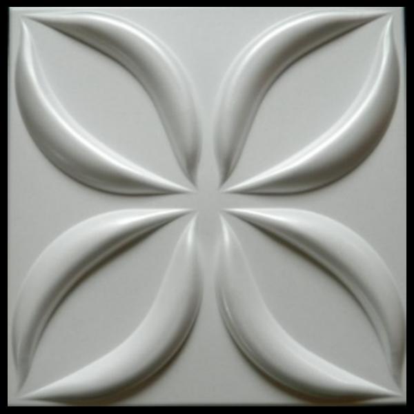 3D mennyezeti burkolólap