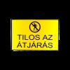 INFORMÁCIÓS TÁBLA A4, MŰANYAG