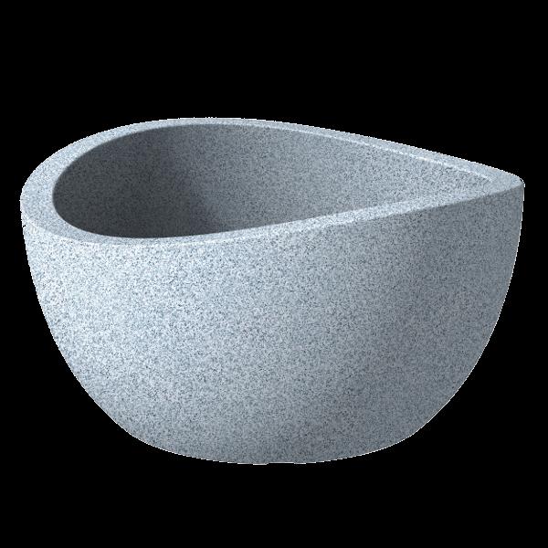 kasp k lt ri 40cm wave globe feh r gr nit sz nben. Black Bedroom Furniture Sets. Home Design Ideas