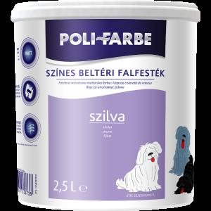 POLI-FARBE BELTÉRI FALFESTÉK 2,5L SZILVA