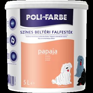 POLI-FARBE BELTÉRI FALFESTÉK 5L PAPAJA