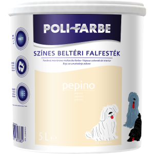 POLI-FARBE BELTÉRI FALFESTÉK 5L PEPINO