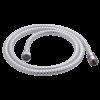 GÉGECSŐ G-DOUBLE WHITE 00,PVC 150CM,FLEXIBILIS D=14MM 1/2X1/2