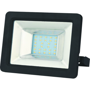 SLIM LED REFLEKTOR 30W 2850LM 6000K FEKETE