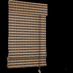 BAMBUSZ RÓMAI ROLÓ 60X160CM 7,5MM+2,5MM FEKETE/KARBONIZÁLT.
