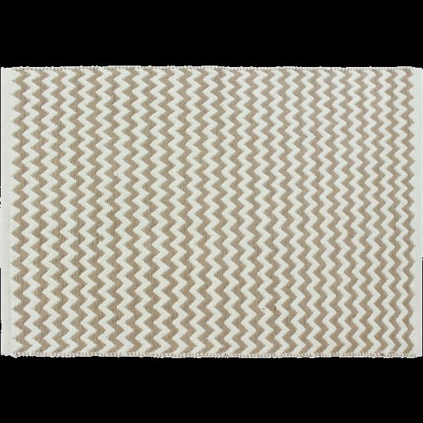 DARABSZŐNYEG ZIG ZAG 120X170 CM BARNA/BEIGE