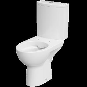 PARVA KOMPAKT WC, PEREM NÉLKÜLI HÁTSÓ KIFOLYÁSÚ, FEHÉR, KERÁMIA