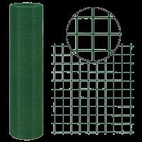 PONTHEGESZTETT HÁLÓ PVC BEVONATOS 10X1M 12,7X12,7MM