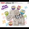 DIGITÁLIS NYOMAT FUNNY ANIMALS - FÁNI FANNI 40X50 CM