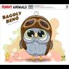 DIGITÁLIS NYOMAT FUNNY ANIMALS - BAGOLY BENŐ 40X50 CM