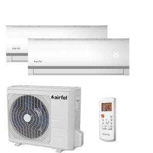 AIRFEL INVERTERES DUAL SPLIT KLÍMA 2,5+3,3KW 2LMX50A/LTXN25+LTXN35