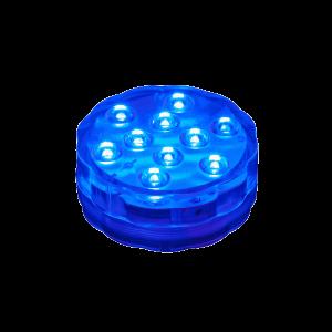 LED MEDENCEVILÁGÍTÁS 3DB-OS SZETT 6,8X2,9CM 10XRGB LED 3XAAA