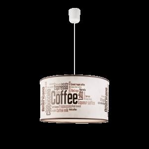 FÜGGESZTÉK E27 1*60W COFFEE