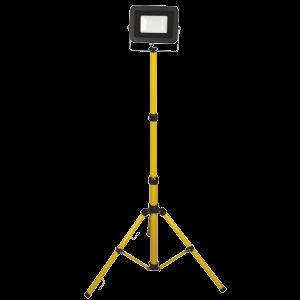LED REFLEKTOR ÁLLVÁNYOS 20W IP65 1800LM, 1,5M VEZETÉKKEL