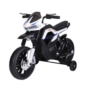 ELEKTROMOS GYERMEKMOTOR YAKIMOTOKID MOTOCICLO 6V,4AH,FEKETE-FEHÉR
