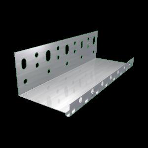LÁBAZATI INDÍTÓPROFIL 2,5 FM/DB 10CM 0,5×100 MM VASTAG, 20 DB/KÖTEG