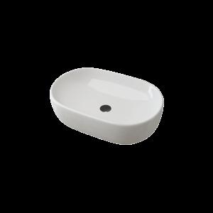 Tavolone kerámiamosdó 60cm, fehér