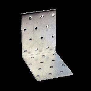 sarokösszekötő lemez perf. 60x60x100mm