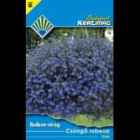 Balkon virág Csüngő lobélia Kék