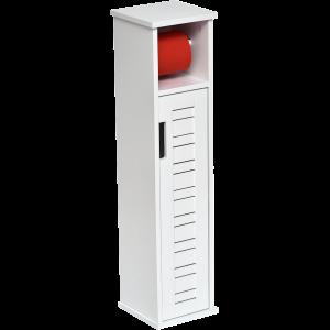 Miami szekrény 18x75x18CM, fehér