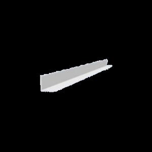 SAROKPROFIL FEHÉR 30×30MM