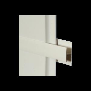 H-OSZTÓ PROFIL 10-ES FEHÉR PVC