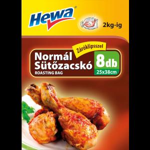 HEWA NORMÁL SÜTŐZACSKÓ 25X45CM 8DB
